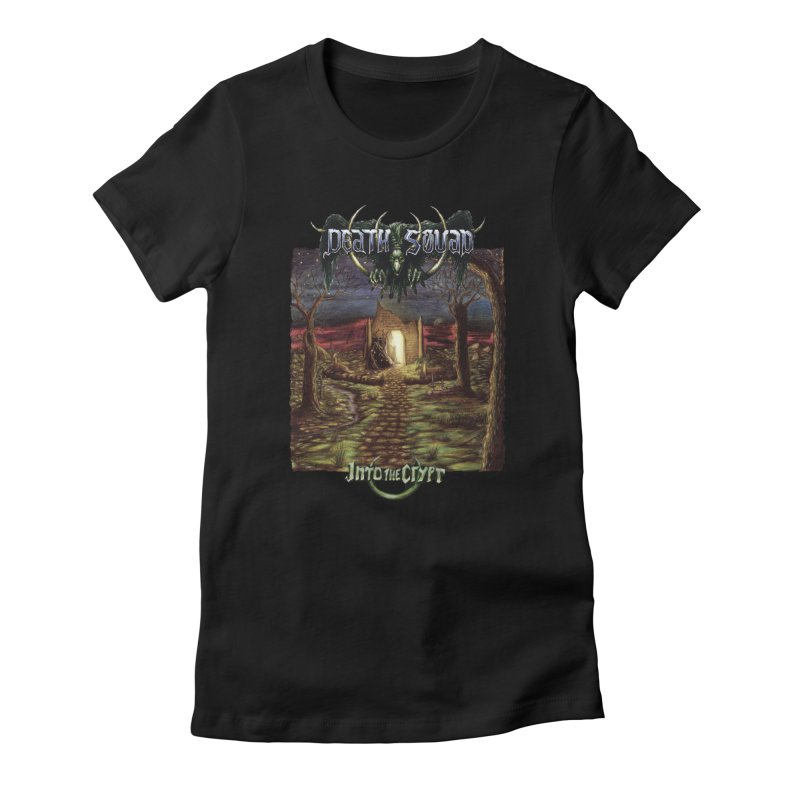 DEATH SQUAD - Into The Crypt Women's T-Shirt by DARK SYMPHONIES / THE CRYPT Apparel