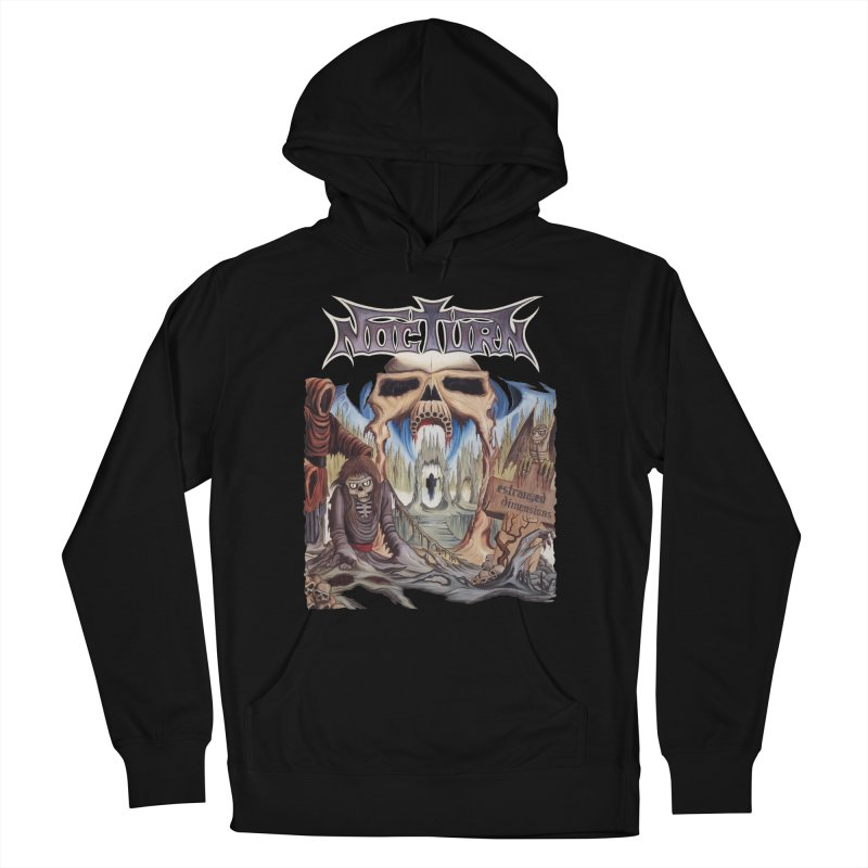 NOCTURN - Estranged Dimensions Men's French Terry Pullover Hoody by DARK SYMPHONIES / THE CRYPT Apparel