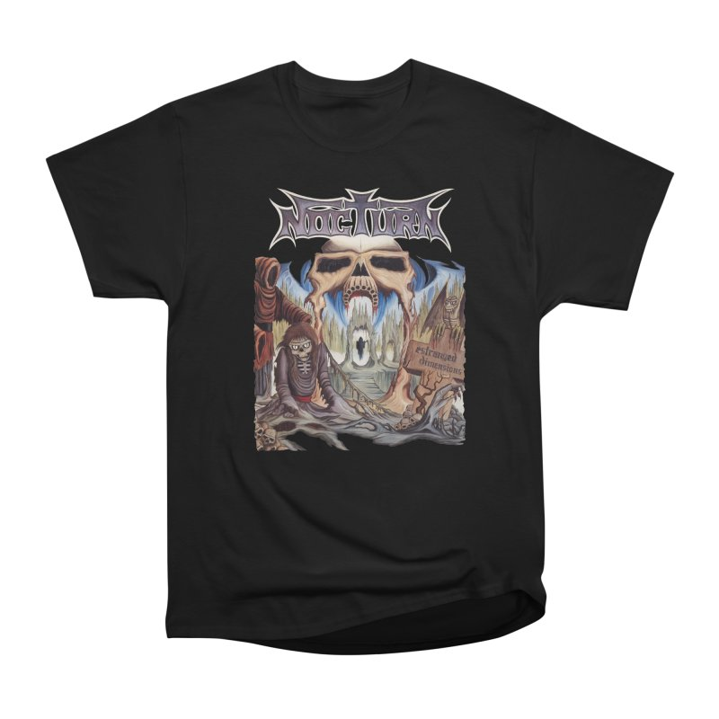 NOCTURN - Estranged Dimensions Men's Heavyweight T-Shirt by DARK SYMPHONIES / THE CRYPT Apparel