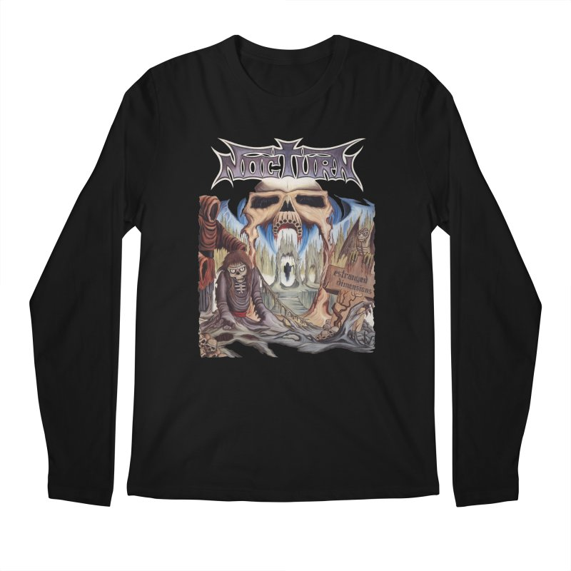 NOCTURN - Estranged Dimensions Men's Regular Longsleeve T-Shirt by DARK SYMPHONIES / THE CRYPT Apparel