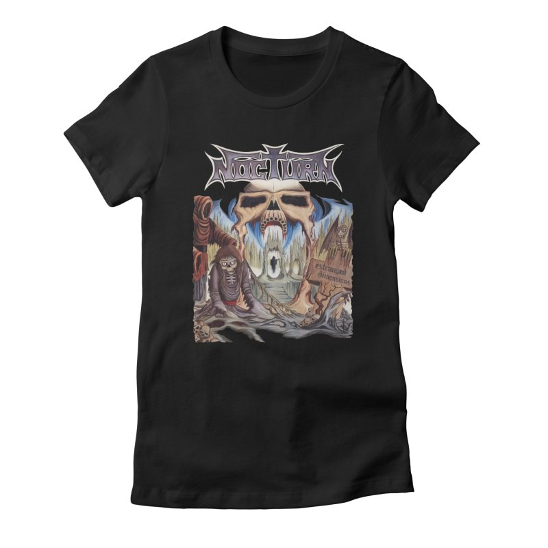 NOCTURN - Estranged Dimensions Women's T-Shirt by DARK SYMPHONIES / THE CRYPT Apparel