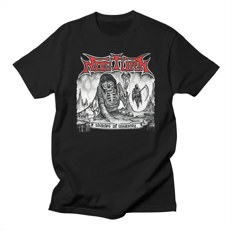 NOCTURN - Shades of Insanity Men's T-Shirt by DARK SYMPHONIES / THE CRYPT Apparel