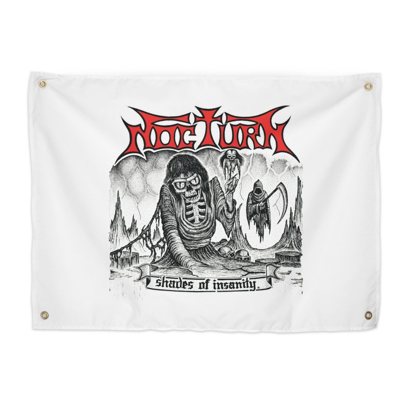 NOCTURN - Shades of Insanity Home Tapestry by DARK SYMPHONIES / THE CRYPT Apparel