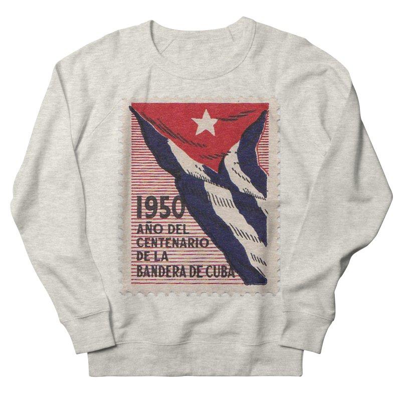 Cuba Vintage Stamp Art 1950 Men's Sweatshirt by The Cuba Travel Store Artist Shop