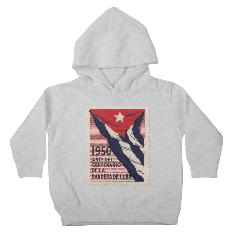 Cuba Vintage Stamp Art 1950 Kids Toddler Pullover Hoody by The Cuba Travel Store Artist Shop