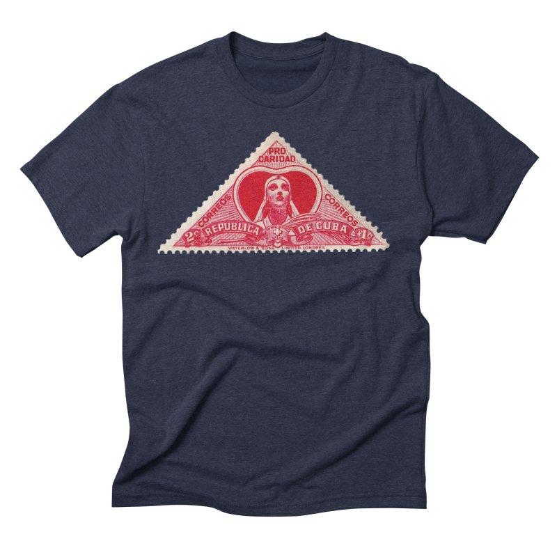 Cuba Vintage Stamp Art 1959 Men's T-Shirt by The Cuba Travel Store Artist Shop