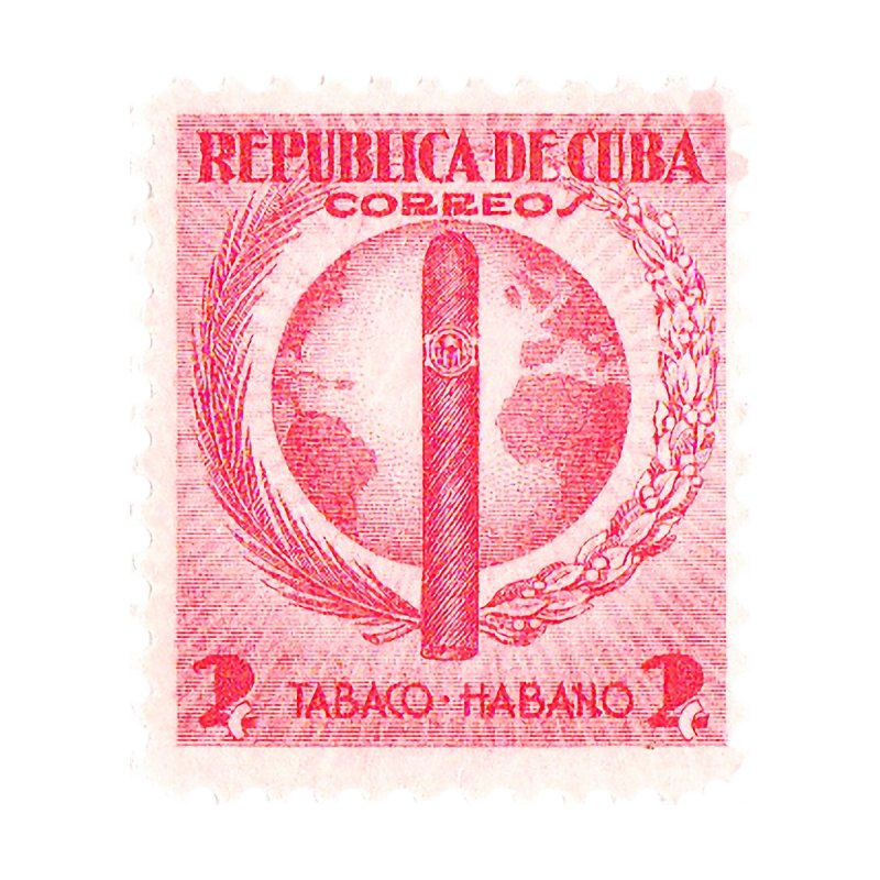 Cuba Vintage Stamp Art 1939  Home Blanket by The Cuba Travel Store Artist Shop