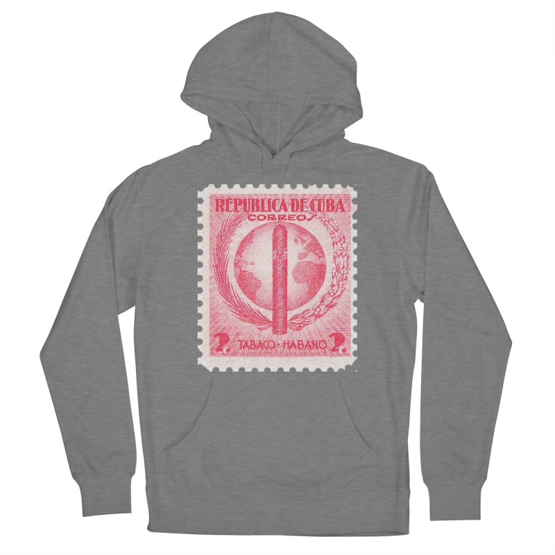 Cuba Vintage Stamp Art 1939  Women's Pullover Hoody by The Cuba Travel Store Artist Shop