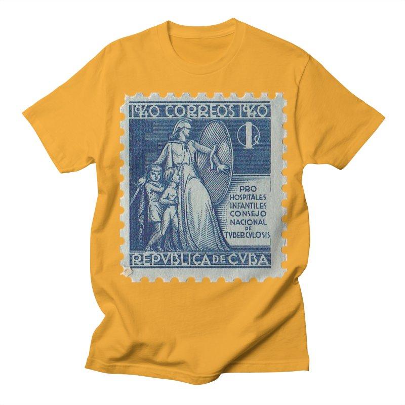 Cuba Vintage Stamp Art 1940 Women's T-Shirt by The Cuba Travel Store Artist Shop
