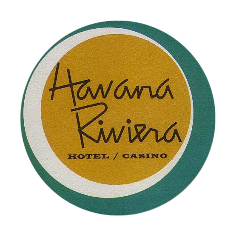 Havana Riviera Hotel 1950s Logo Men's Longsleeve T-Shirt by The Cuba Travel Store Artist Shop