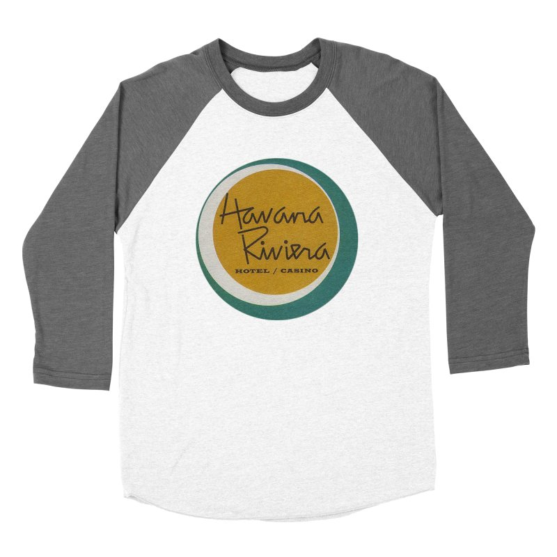 Havana Riviera Hotel 1950s Logo Women's Longsleeve T-Shirt by The Cuba Travel Store Artist Shop