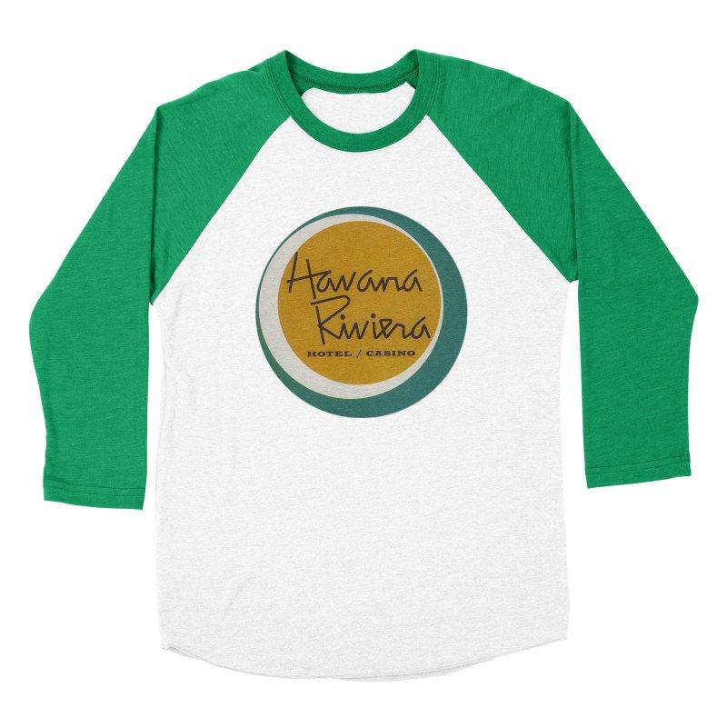 Havana Riviera Hotel 1950s Logo Women's Longsleeve T-Shirt by The Cuba Travel Store Artist Shop