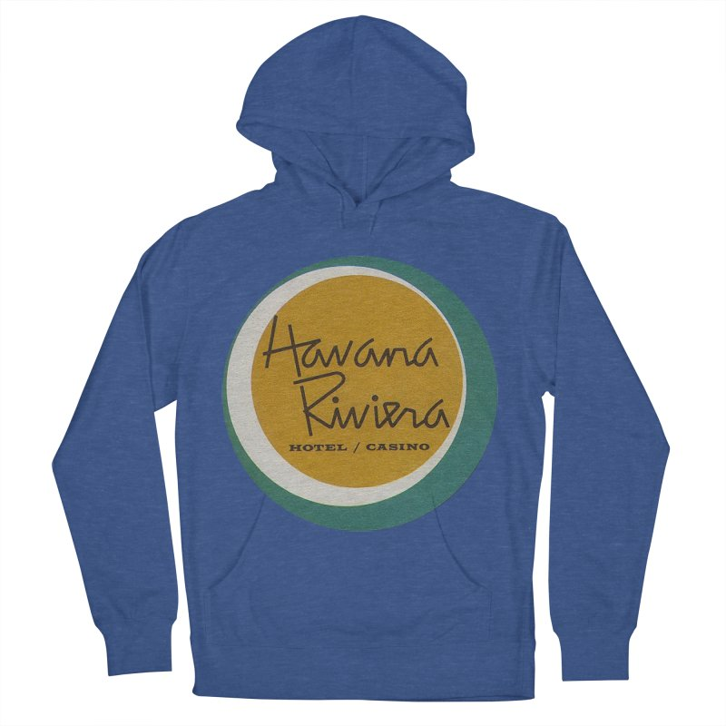 Havana Riviera Hotel 1950s Logo Women's French Terry Pullover Hoody by The Cuba Travel Store Artist Shop