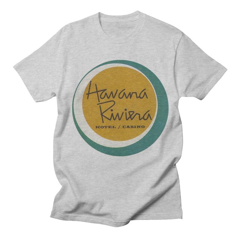 Havana Riviera Hotel 1950s Logo Men's T-Shirt by The Cuba Travel Store Artist Shop