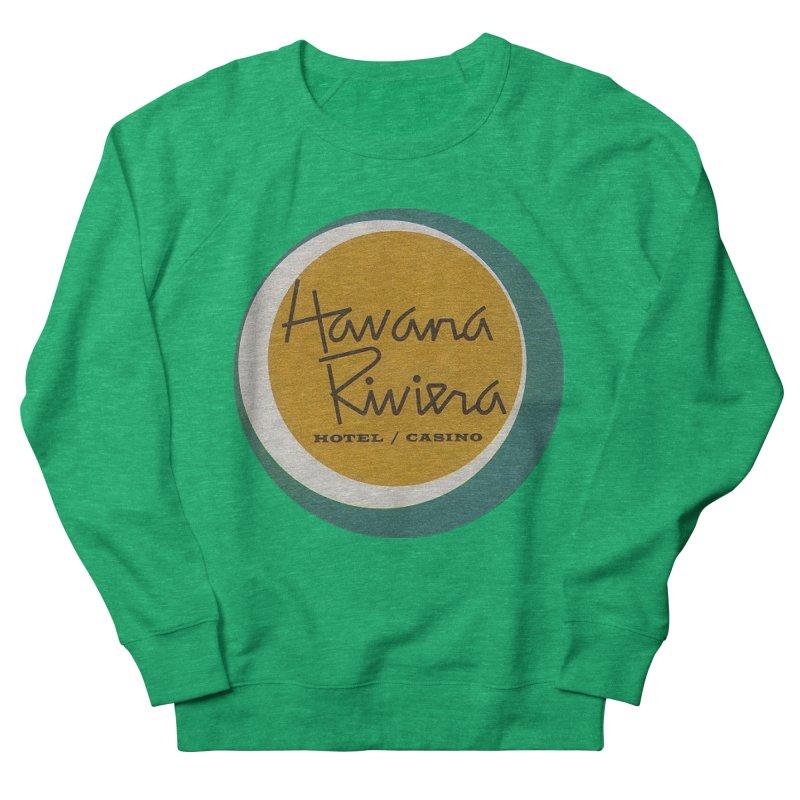 Havana Riviera Hotel 1950s Logo Women's Sweatshirt by The Cuba Travel Store Artist Shop