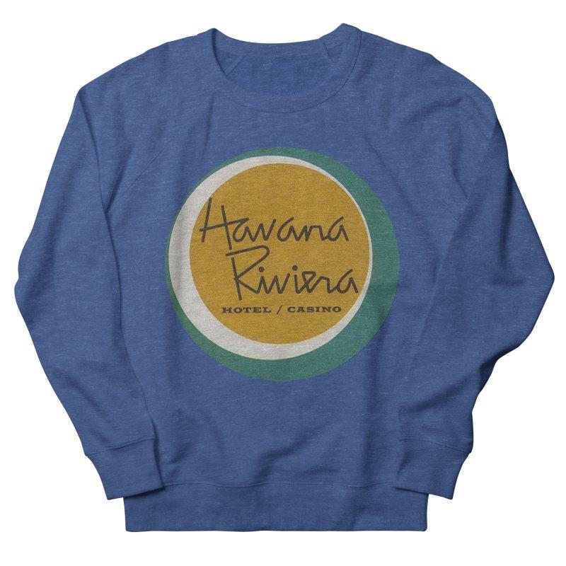 Havana Riviera Hotel 1950s Logo Women's French Terry Sweatshirt by The Cuba Travel Store Artist Shop