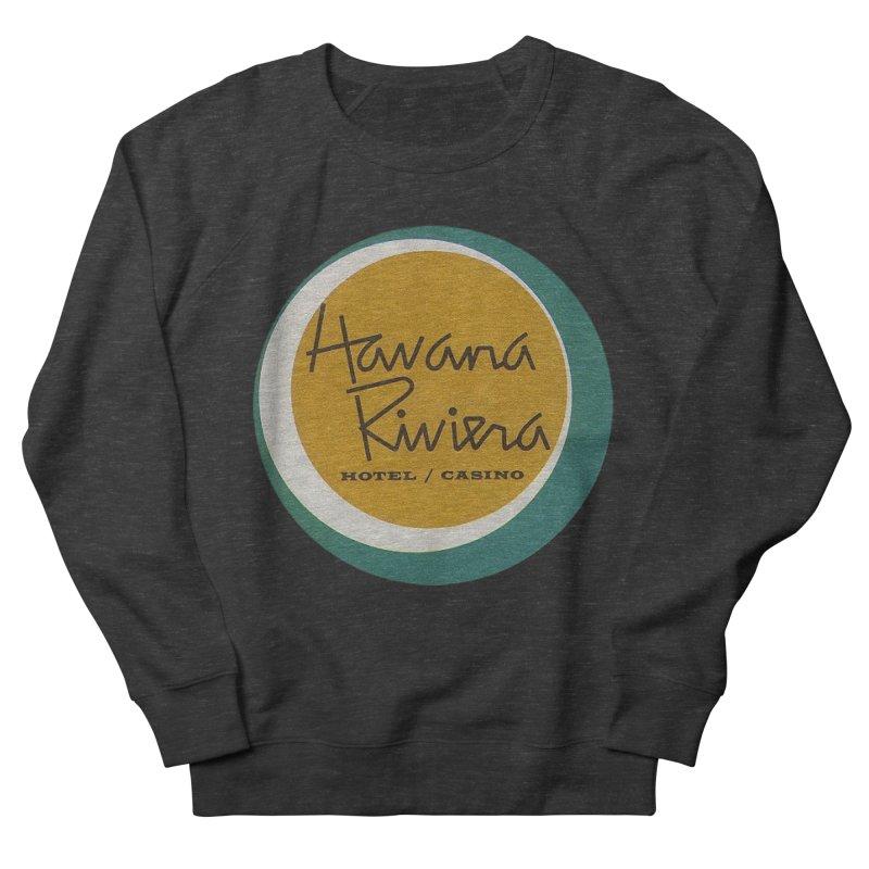 Havana Riviera Hotel 1950s Logo Men's French Terry Sweatshirt by The Cuba Travel Store Artist Shop
