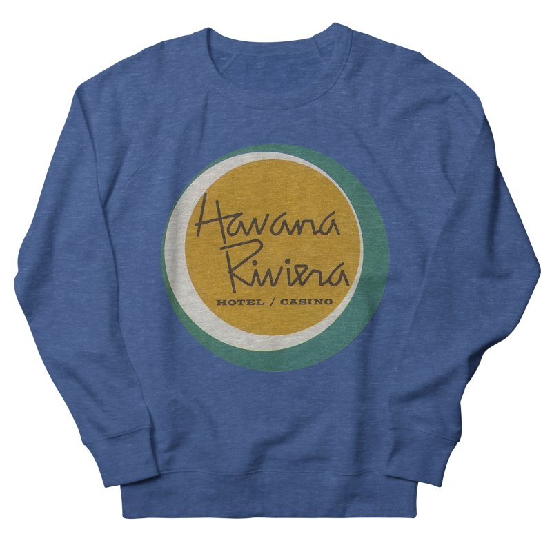 Havana Riviera Hotel 1950s Logo Men's Sweatshirt by The Cuba Travel Store Artist Shop