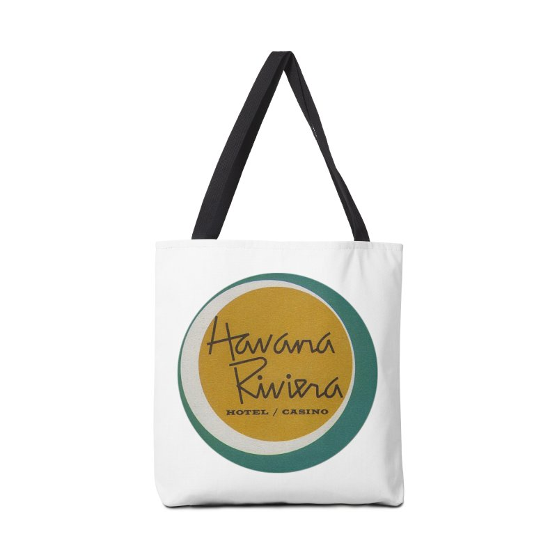 Havana Riviera Hotel 1950s Logo Accessories Bag by The Cuba Travel Store Artist Shop
