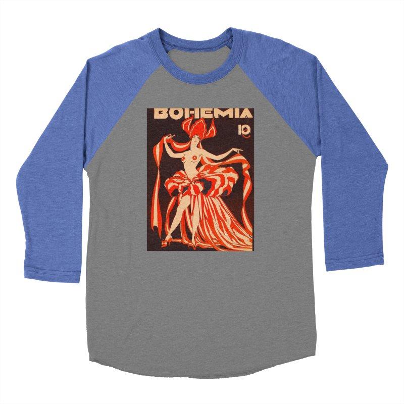 Cuba Bohemia Vintage Magazine Cover 1929 Women's Longsleeve T-Shirt by The Cuba Travel Store Artist Shop
