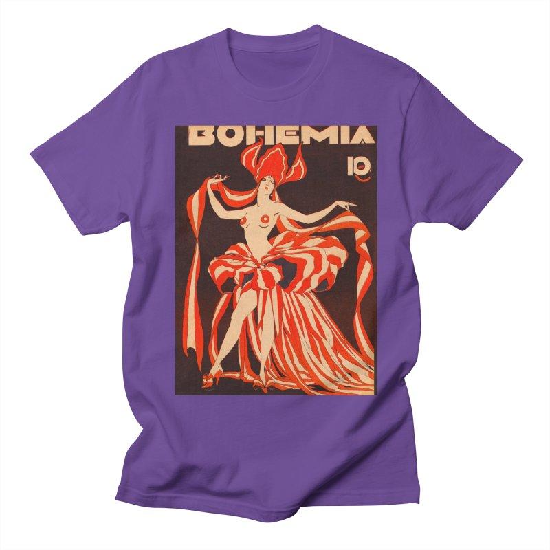 Cuba Bohemia Vintage Magazine Cover 1929 Men's T-Shirt by The Cuba Travel Store Artist Shop