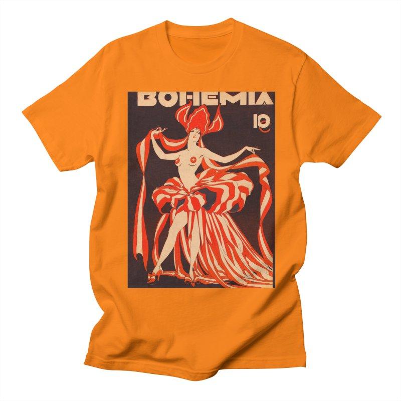 Cuba Bohemia Vintage Magazine Cover 1929 Men's Regular T-Shirt by The Cuba Travel Store Artist Shop
