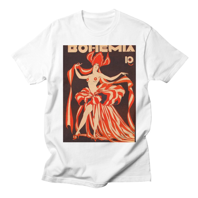 Cuba Bohemia Vintage Magazine Cover 1929 Men's T-Shirt by The Cuba Travel Store Artist Shop