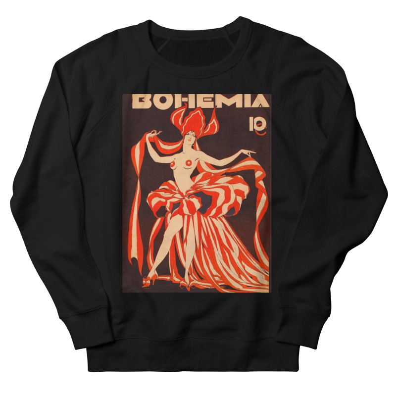Cuba Bohemia Vintage Magazine Cover 1929 Women's Sweatshirt by The Cuba Travel Store Artist Shop