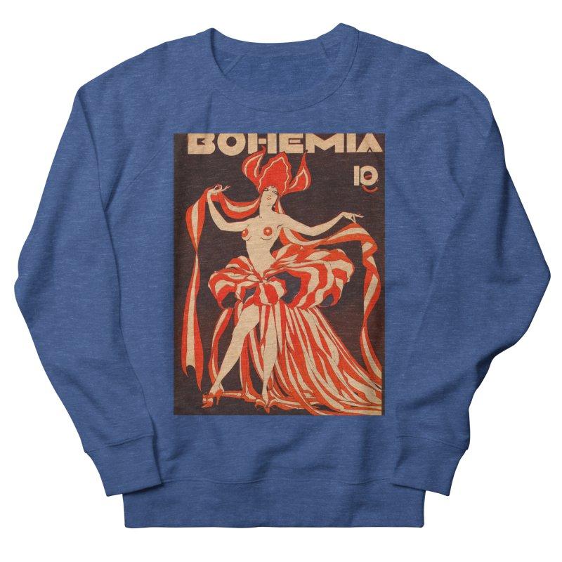 Cuba Bohemia Vintage Magazine Cover 1929 Men's Sweatshirt by The Cuba Travel Store Artist Shop