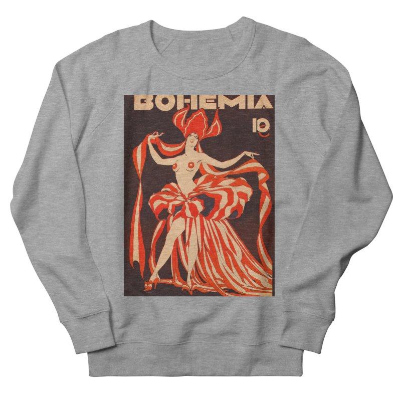 Cuba Bohemia Vintage Magazine Cover 1929 Men's French Terry Sweatshirt by The Cuba Travel Store Artist Shop