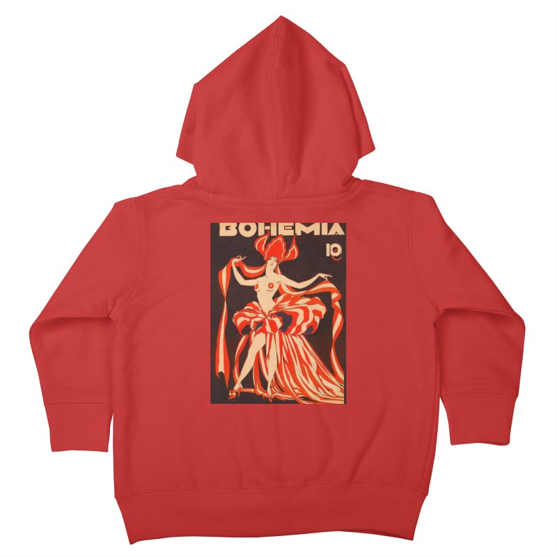 Cuba Bohemia Vintage Magazine Cover 1929 Kids Toddler Zip-Up Hoody by The Cuba Travel Store Artist Shop