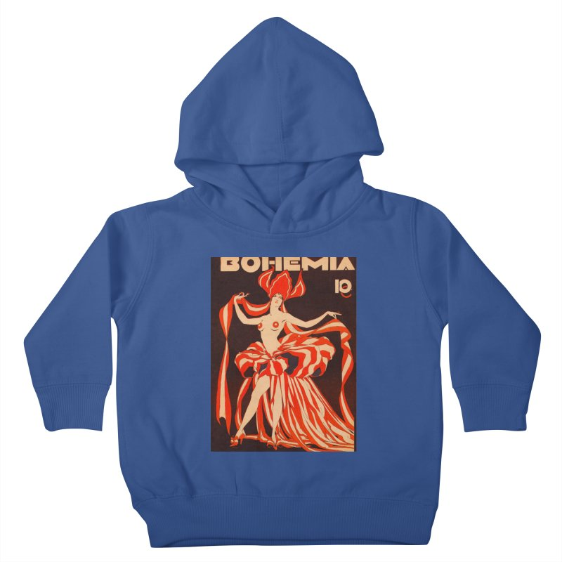 Cuba Bohemia Vintage Magazine Cover 1929 Kids Toddler Pullover Hoody by The Cuba Travel Store Artist Shop