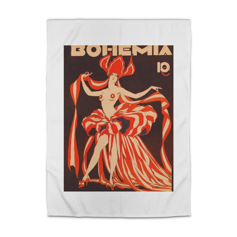 Cuba Bohemia Vintage Magazine Cover 1929 Home Rug by The Cuba Travel Store Artist Shop