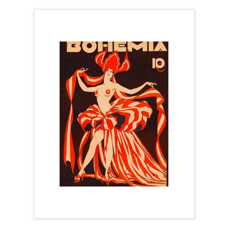 Cuba Bohemia Vintage Magazine Cover 1929 Home Fine Art Print by The Cuba Travel Store Artist Shop