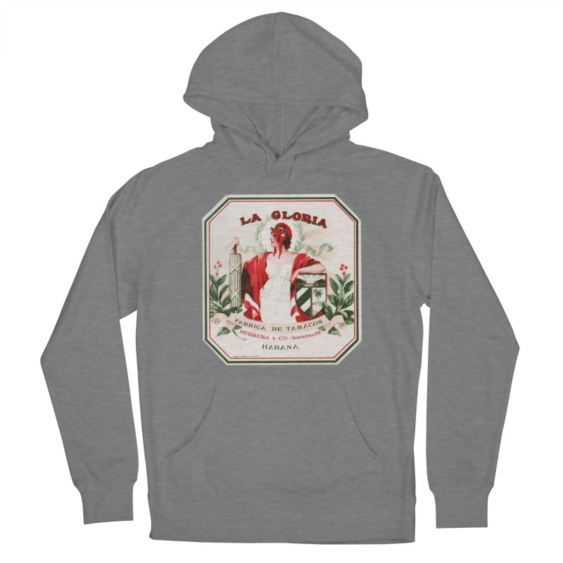 Cuba La Gloria Vintage Cigar Label 1930s Women's Pullover Hoody by The Cuba Travel Store Artist Shop