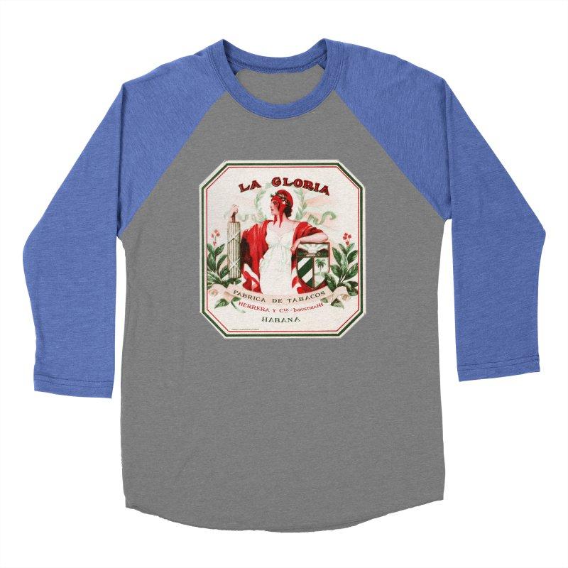 Cuba La Gloria Vintage Cigar Label 1930s Women's Longsleeve T-Shirt by The Cuba Travel Store Artist Shop