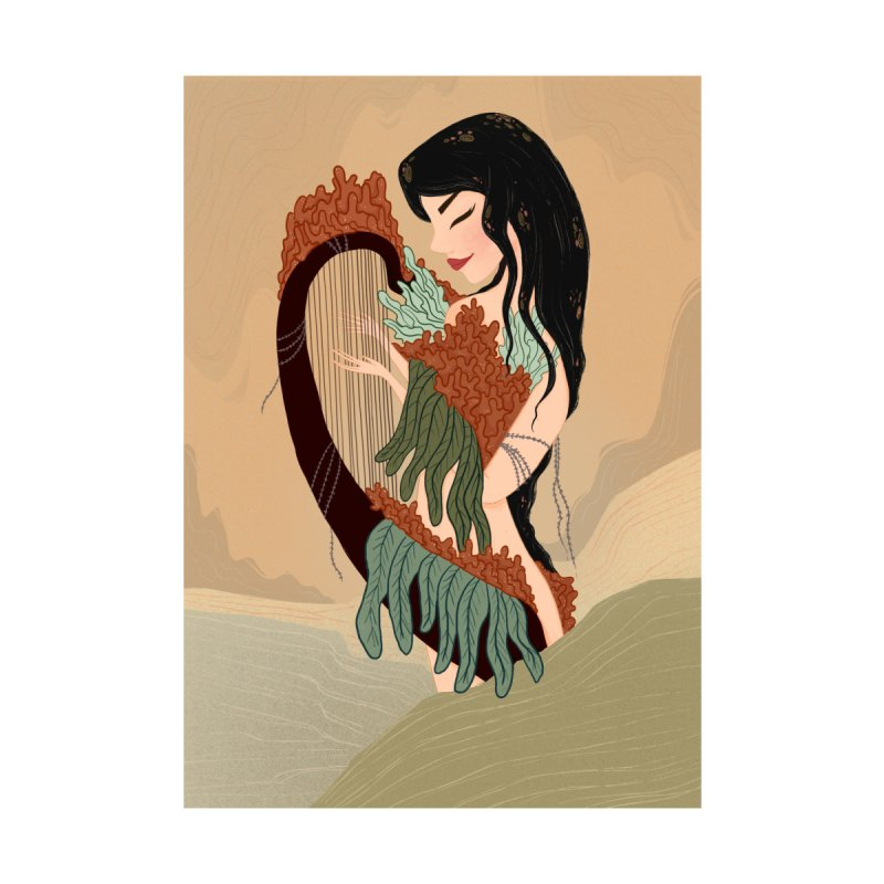 Harp Queen by thecuriousunicorn's Shop