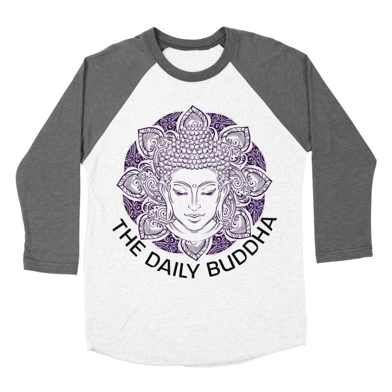 The Daily Buddha Women's Baseball Triblend Longsleeve T-Shirt by The Daily Buddha Artist Shop
