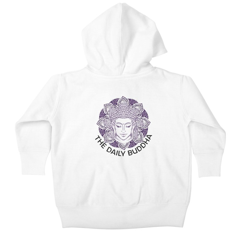 The Daily Buddha Kids Baby Zip-Up Hoody by The Daily Buddha Artist Shop