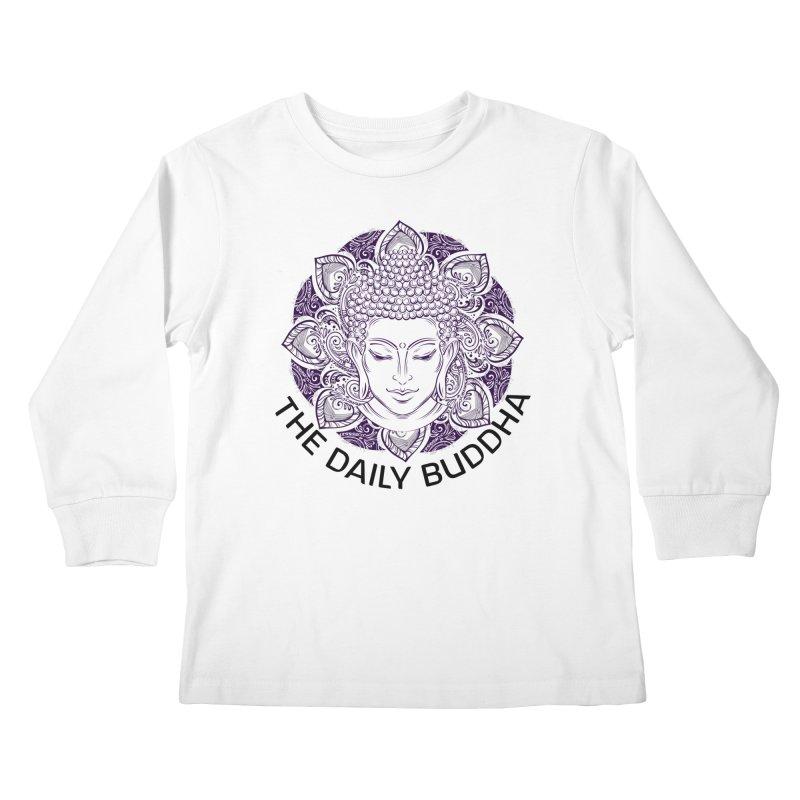 The Daily Buddha Kids Longsleeve T-Shirt by The Daily Buddha Artist Shop