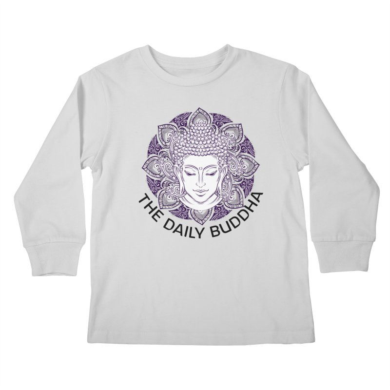The Daily Buddha Kids Longsleeve T-Shirt by The Daily Buddha Artist Shop