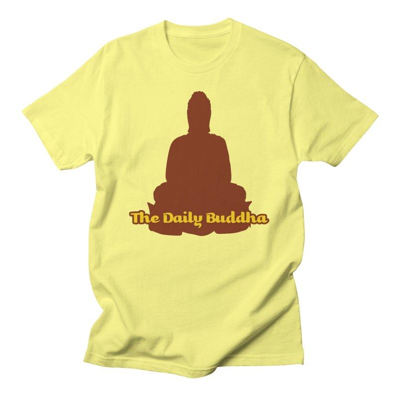 The Daily Buddha Men's T-Shirt by The Daily Buddha Artist Shop