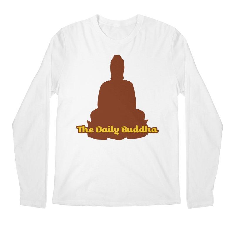 The Daily Buddha Men's Regular Longsleeve T-Shirt by The Daily Buddha Artist Shop