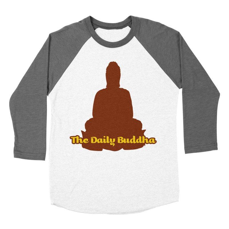 The Daily Buddha Men's Baseball Triblend Longsleeve T-Shirt by The Daily Buddha Artist Shop