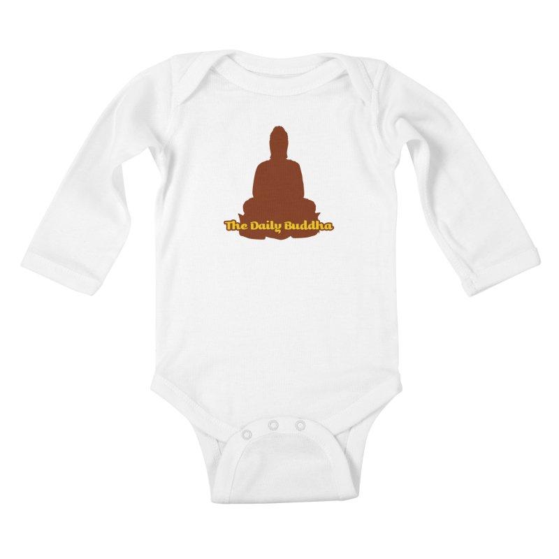 The Daily Buddha Kids Baby Longsleeve Bodysuit by The Daily Buddha Artist Shop