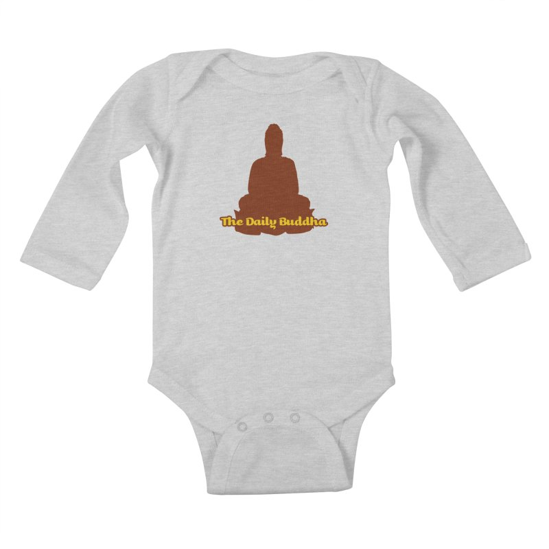 The Daily Buddha Kids Baby Longsleeve Bodysuit by The Daily Buddha Artist Shop