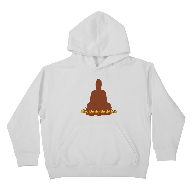 The Daily Buddha Kids Pullover Hoody by The Daily Buddha Artist Shop