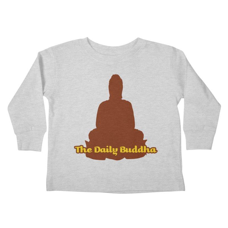 The Daily Buddha Kids Toddler Longsleeve T-Shirt by The Daily Buddha Artist Shop
