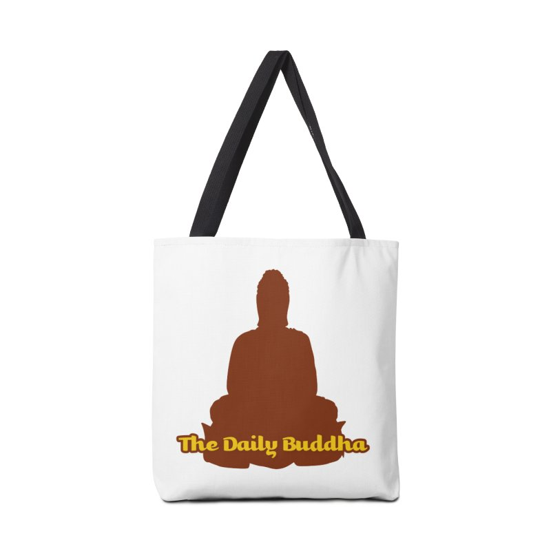 The Daily Buddha Accessories Tote Bag Bag by The Daily Buddha Artist Shop