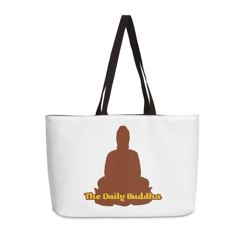 The Daily Buddha Accessories Weekender Bag Bag by The Daily Buddha Artist Shop
